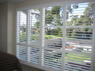 Shutter paneel for Houten decoratie voor raam